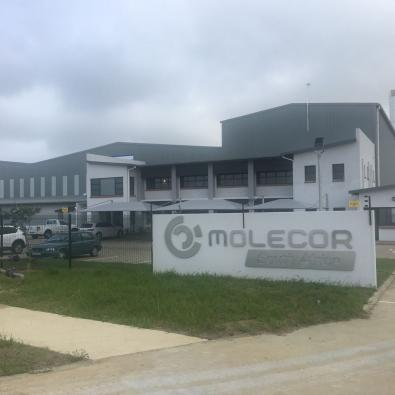 Image of Molecor's facilities in South Africa