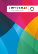 Front cover of the 2019 Cofides' Corporate Brochure